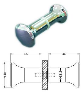 Shower Door Knobs Gk 06btb High Quality Builder